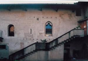 Castello di Romano - Cortile interno