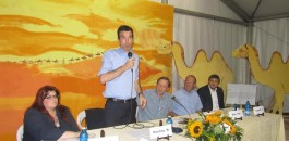 Il ministro Martina  ospite a Mornico al Serio sul tema expo