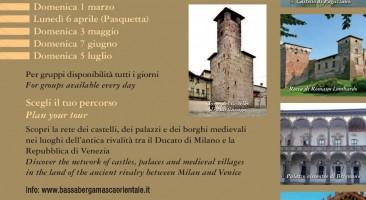 Terza giornata dei castelli aperti: domenica 3 maggio