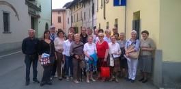 L'Auser di Calvenzano in visita ai luoghi dell'Albero degli Zoccoli