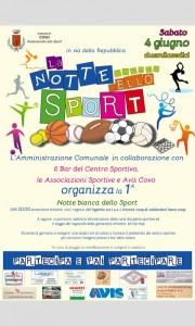 COVO, Notte bianca dello sport  @ via della Repubblica, Covo