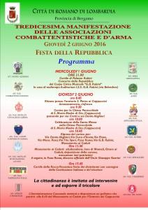 ROMANO DI LOMBARDIA, Manifestazione delle associazioni combattentistiche e d'arma @ Romano di Lombardia