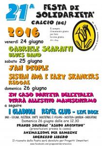 Calcio, 21° festa della solidarietà @ P.zza Polivalente di calcio