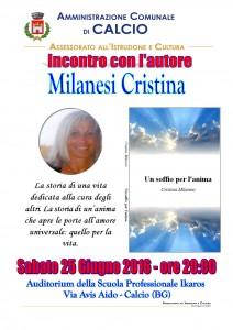 Calcio, incontro con l'autore Milanesi Cristiana @ Auditorium scuola professionale Ikaros | Calcio | Lombardia | Italia
