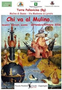 Torre Pallavicina, Chi va al Mulino ... @ Ostello Molino di Basso  - Via Madonna di Loreto, Torre Pallavicina