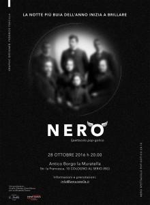 Cologno al Serio, Spettacolo Nero @ Antico Borgo La Muratella | Lombardia | Italia