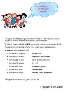 "Cavernago, ""Cinema Insieme"" @ Sala Consiliare"