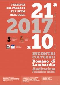 Romano, incontri culturali @ Auditorium Fondazione Rubini