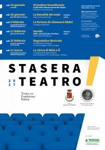 Romano, Stasera Teatro! @ Teatro Fondazione Rubini