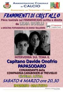 """Calcio, """"Frammenti di cristallo"""" @ Cinema Astra"""