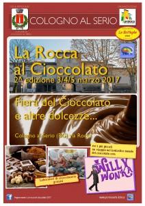 """Cologno al Serio, """"La Rocca al cioccolato"""" @ Via Rocca"""