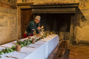 Castello di Malpaga (Cavernago), cena storica medioevale @ castello di Malpaga