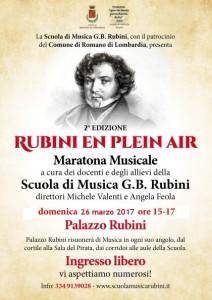 Romano, Rubini en plein air @ Palazzo Rubini