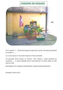 Ghisalba, mercatino dei giocattoli @ Circolo del Progresso   Ghisalba   Lombardia   Italia