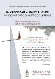 Pagazzano, TALK Salvador Dalì e Dante Alighieri: Un confronto dialettico surreale