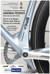 Romano di Lombardia, Andrea Pesenti: Arte e tecniche del ciclismo @ Palazzo della Ragione | Romano di Lombardia | Lombardia | Italia