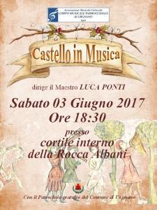 Urgnano, Castello in musica @ Giardino interno Rocca Albani | Urgnano | Lombardia | Italia