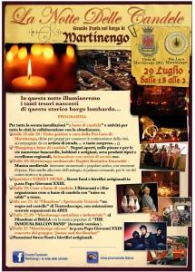 Martinengo, Notte delle Candele 2017 @ Borgo storico  | Lombardia | Italia