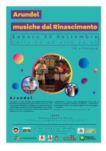 """Calcio, """"Arundel - musiche dal Rinascimento"""" @ Vecchia Pieve"""