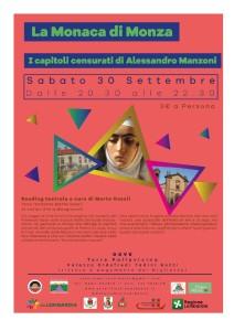 """Torre Pallavicina, """"La monaca di Monza - I capitoli censurati di Alessandro Manzoni"""" @ Palazzo Oldofredi Tadini Botti"""