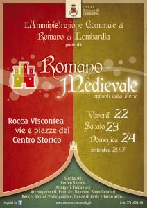 """Romano, """"Romano medievale"""" @ Rocca Viscontea, centro storico"""