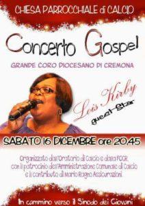 Calcio, Concerto Gospel @ Chiesa Parrocchiale    Calcio   Lombardia   Italia