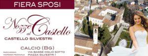 Calcio, Fiera per gli sposi @ Castello Silvestri di Calcio