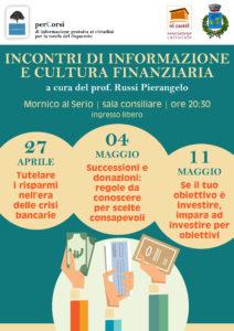 Mornico al Serio, Incontri di informazione e cultura finanziaria @ Mornico al Serio   Mornico Al Serio   Lombardia   Italia