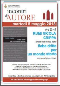 Martinengo, Incontri D'Autore @ Biblioteca comunale, Martinengo | Martinengo | Lombardia | Italia
