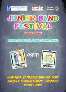 Urgnano, Junior Band Festival @ Urgnano | Urgnano | Lombardia | Italia
