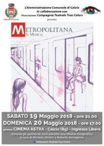 Calcio, Metropolitana Il Musical @ Calcio | Calcio | Lombardia | Italia