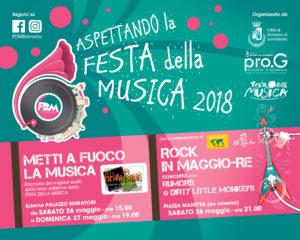 Romano di Lombardia, aspettando la Festa della Musica 2018 @ Romano di Lombardia
