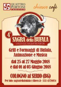 Cologno al Serio, IV Edizione della Sagra della Bufala @ Quattro Portoni | Cologno Al Serio | Lombardia | Italia