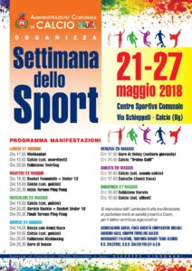Calcio, Settimana dello sport @ Calcio | Calcio | Lombardia | Italia