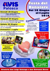 Palosco, Festa del donatore @ Palosco | Palosco | Lombardia | Italia