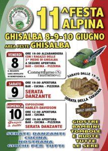 Ghisalba, 11° Festa Alpina @ Ghisalba, Area Feste | Ghisalba | Lombardia | Italia