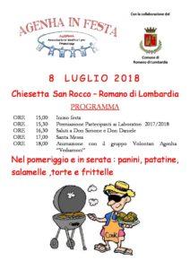 Romano di Lombardia, Festa San Rocco @ Chiesetta San Rocco, Romano di Lombardia | Lombardia | Italia