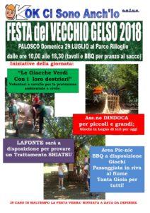 Palosco, Festa del vecchio gelso 2018 @ Parco Rilloglio di Palosco