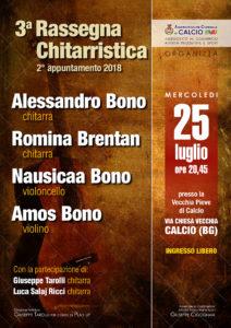 Calcio, 3° Rassegna Chitarristica @ Vecchia Pieve di Calcio | Calcio | Lombardia | Italia