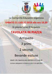 Cavernago, tavolata in piazza @ Cavernago | Cavernago | Lombardia | Italia