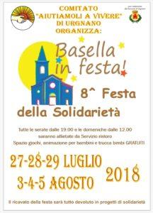 Urgnano, Basella in festa 8^ Festa della solidarietà @ Oratorio Basella