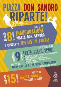 Romano di Lombardia, Nicola Congiu in concerto @ Piazza Don Sandro, Romano di Lombardia