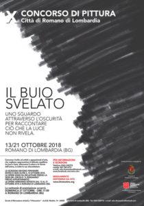 """Romano di Lombardia, concorso di pittura contemporanea """"Il buio svelato"""" @ Romano di Lombardia"""