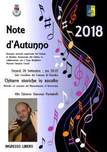 Ghisalba, Note d'Autunno @ Sala Consiliare del Comune di Ghisalba | Ghisalba | Lombardia | Italia