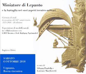 Urgnano, Miniature di Lepanto e la battaglia nei suoi aspetti tecnico-militari @ Rocca Albani