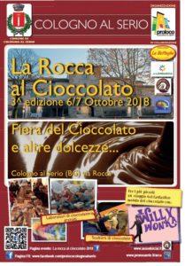 """Cologno Al Serio, """"La Rocca al Cioccolato"""" @ Cologno al Serio, Via Rocca"""