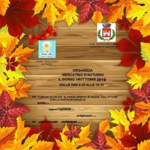 Calcio, Mercatino d'autunno @ Calcio, Piazza San Vittore
