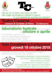 Cortenuova, Laboratorio Teatro Caverna @ Sala Consiliare, Cortenuova