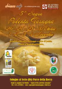 Cologno al Serio, 5^ Sagra Polenta e Taragna @ Parco della Rocca, Cologno al Serio