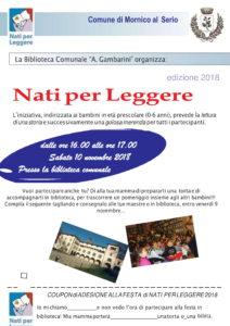 """Mornico al Serio, """"Nati per leggere"""" @ Biblioteca Comunale """"A.Gambarini"""""""